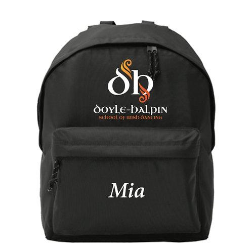 Personalised Backpack- Doyle Halpin