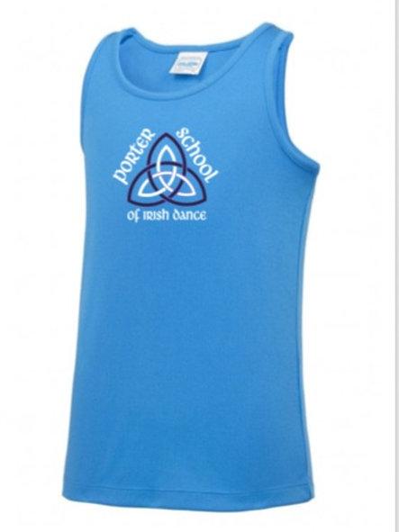 Turquoise sports Vest - Porter School
