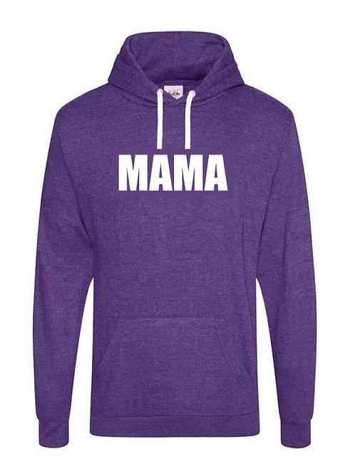 Personalised Purple Adult Hoodie
