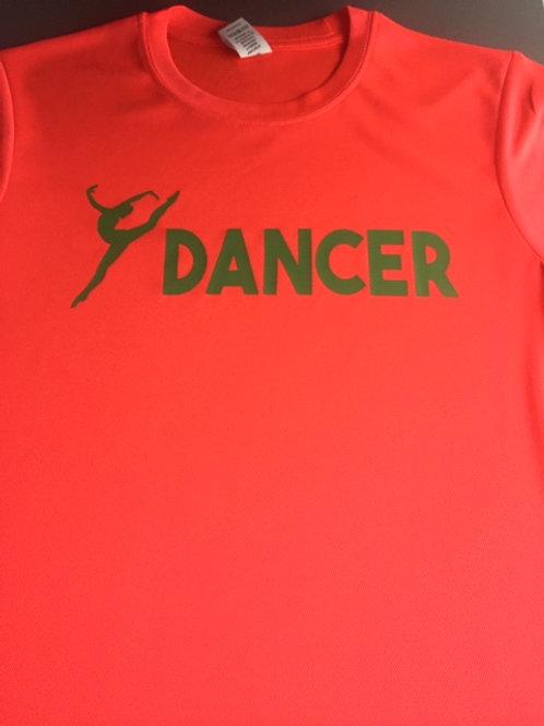 7-8 Coral Dancer tee