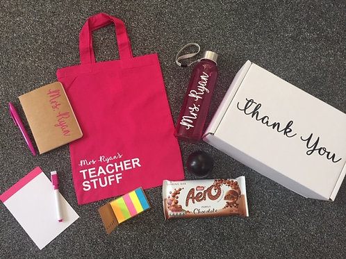 Thank you Teacher Personalised Gift Box