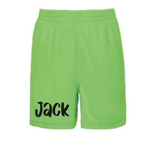 Personalised Boys Shorts
