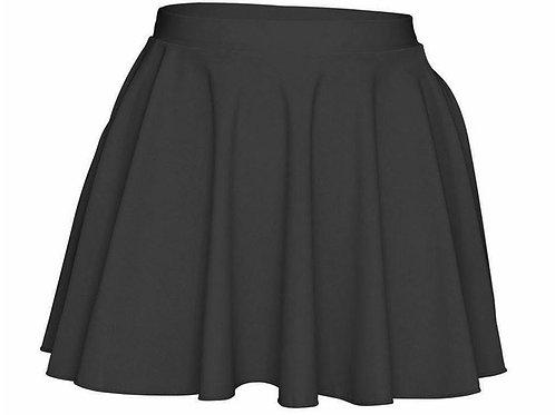 Black Matt Irish Dance Skirt