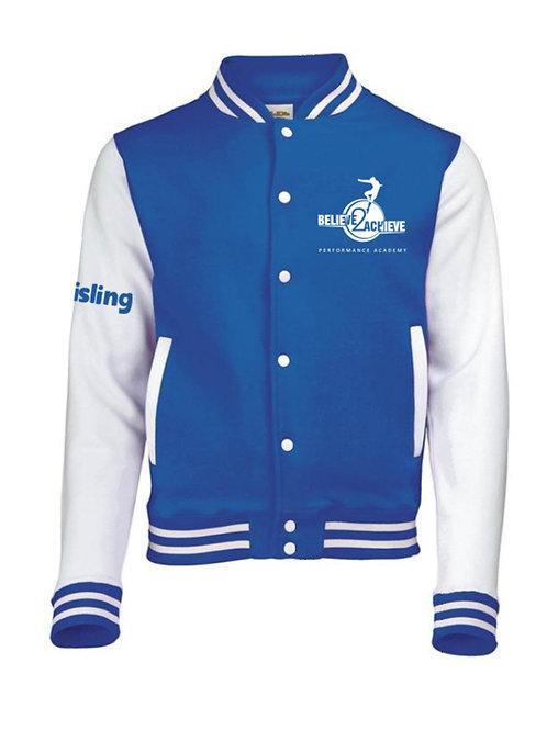 Believe 2 Achieve Varsity Jacket