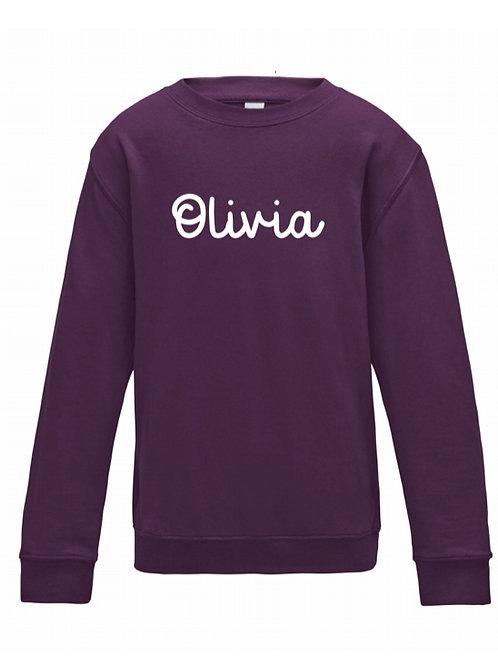 Personalised Kids Sweatshirt