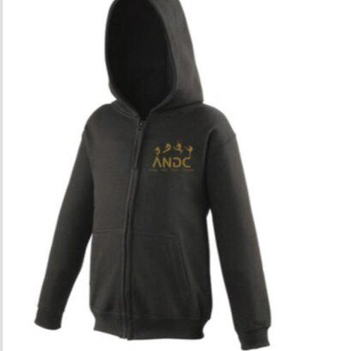 A.N.D.C zip up hoodie