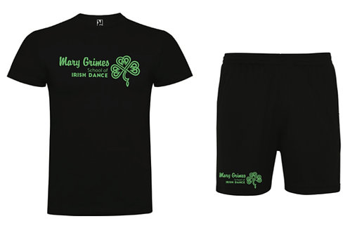 Boys t-shirt & shorts set -  Mary Grimes school of irish dance