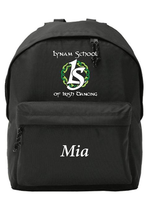 Personalised Backpack -  Lynam School