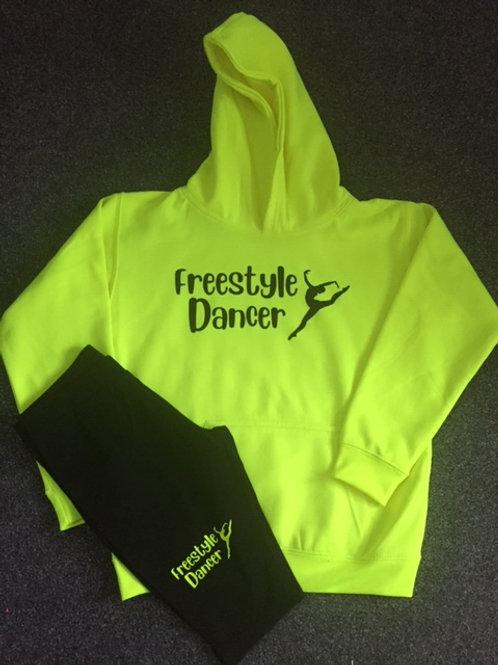 Freestyle / Irish dancer  Hoodie & Bicycle Shorts Set