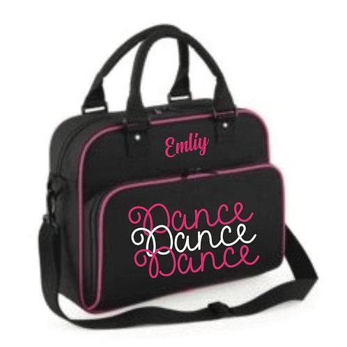 DANCE DANCE DANCE personalised dance bag