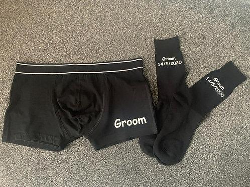 Personalised Jocks & Socks set