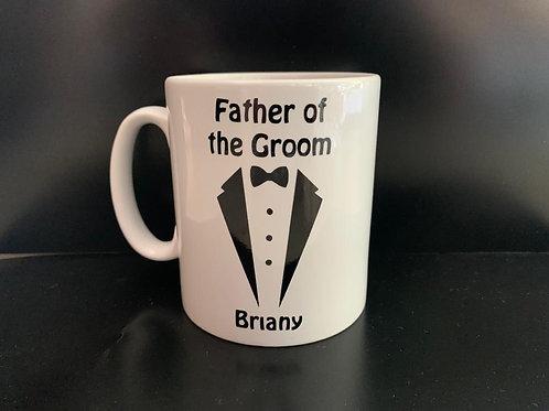 Wedding Party Mug - Personalized