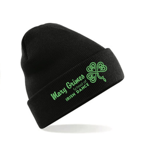 Beanie Embroidered - Mary Grimes school of Irish Dancing