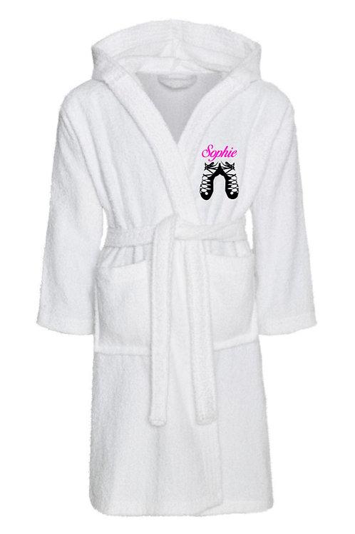 Personalised kids irish dancer robe