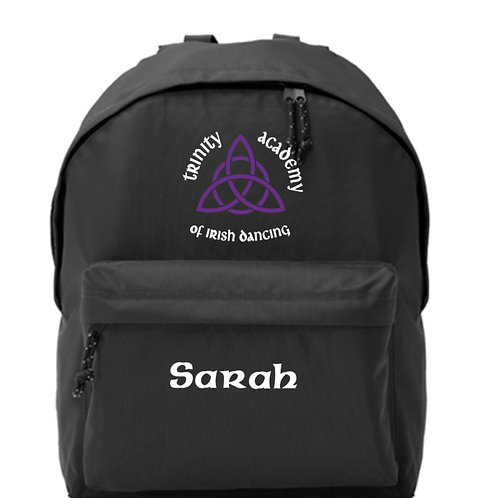 Backpack Personalised - TRINITY ACADEMY