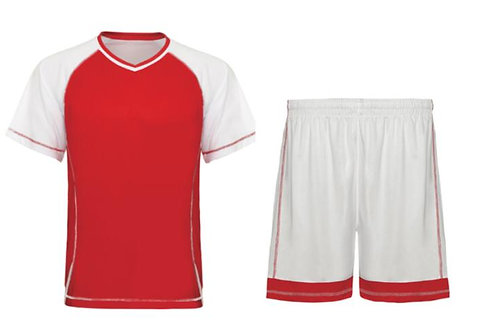 Sports tee & shorts set red or black