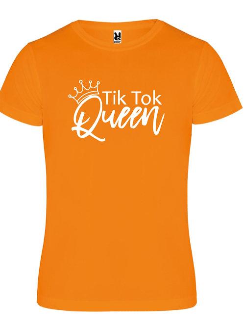 Tiktok Queen tee - Orange