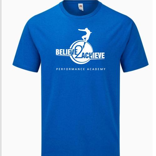 Sports tee -  Believe 2 Achieve