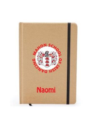 Personalised Notebook - Mahon School of Irish Dancing