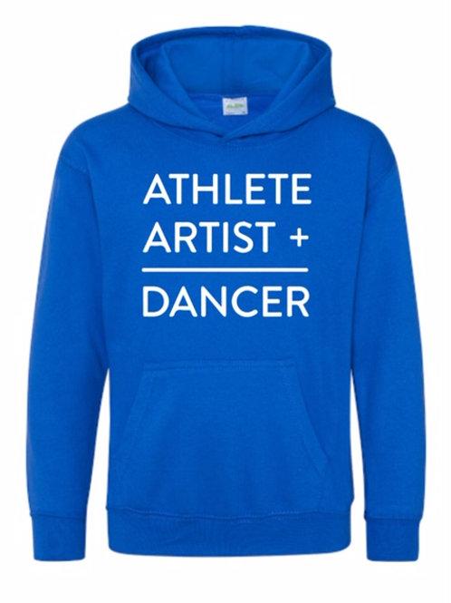 Athlete + Artist = Dancer hoodie