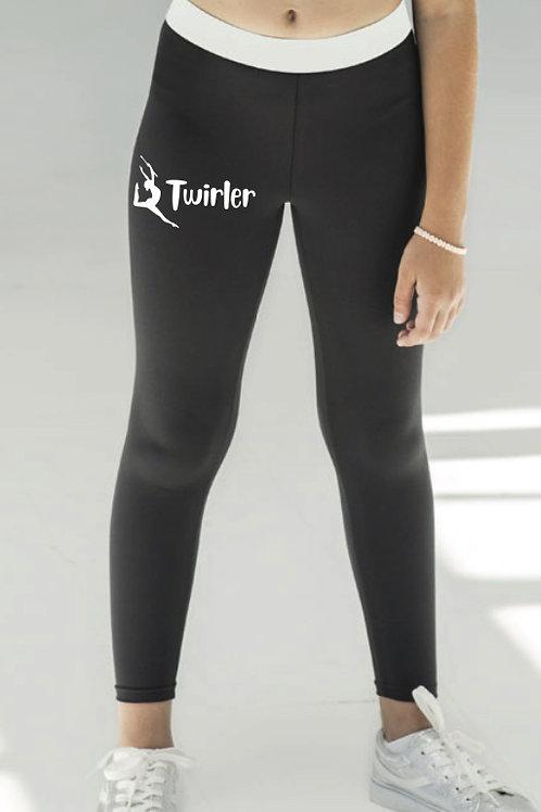 Full Length sports leggings -Twirler