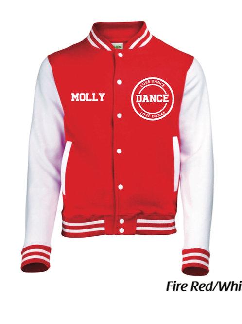 LOVE DANCE Varsity Jacket