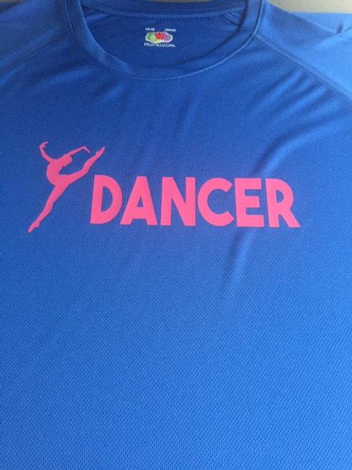 14-15 Blue dancer tee