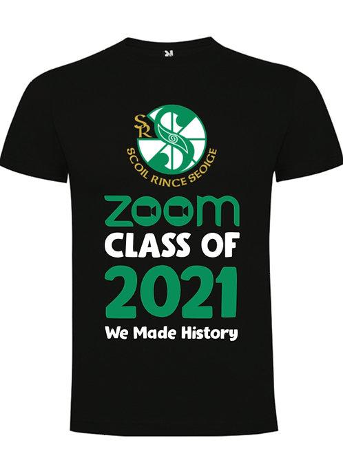 Zoom Class of 2021 T-Shirt - SCOIL RINCE SEOIGE