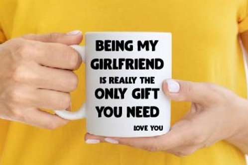 The only gift you need - personalised Mug