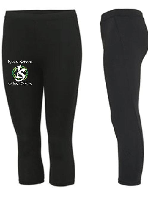 3/4 length sports leggings -  Lynam School