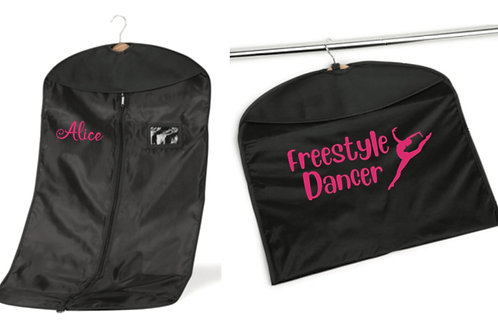 Freestyle dancer personalised costume bag