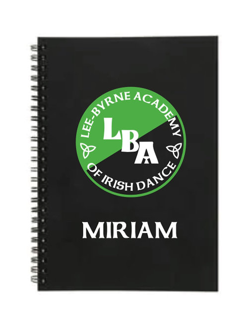 LEE BYRNE ACADEMY Notebook Personalised