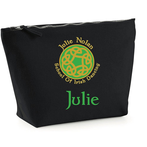 JULIE NOLAN IRISH DANCING Makeup Bag Personalised