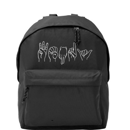 ISL - Personalised Backpack