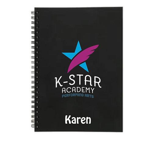 Personanalised Notebook - K STAR ACADEMY
