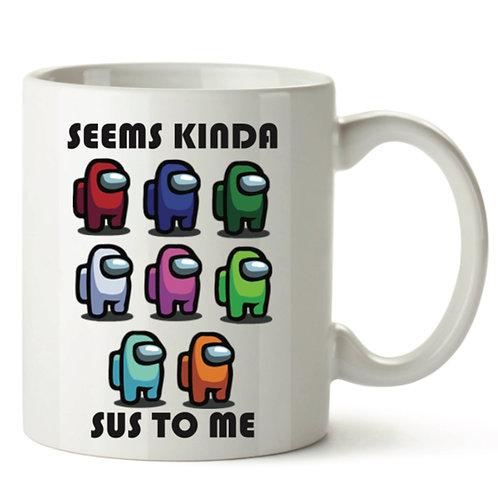 Among us treat mug