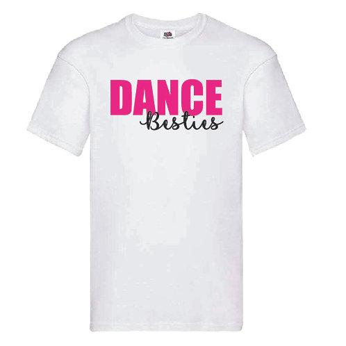 Dance Besties White T-Shirt