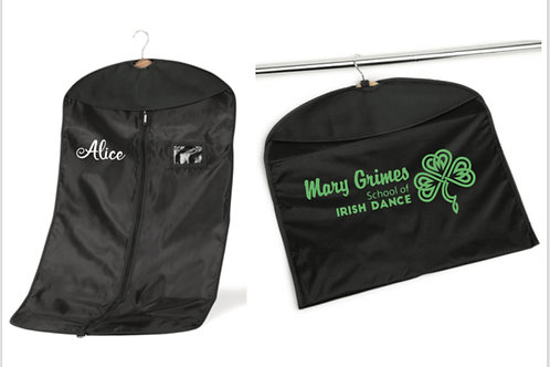 Costume / Suit Bag - Mary Grimes school of Irish Dancing