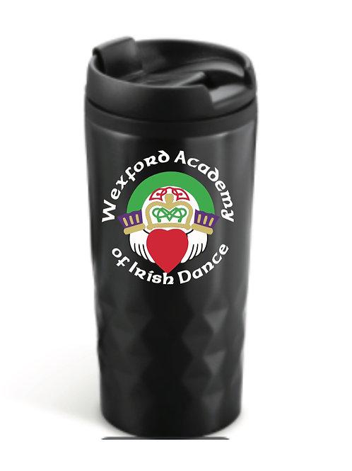 Black personalised Travel Mug - Wexford Academy