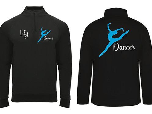 Dancer 1/4 zip Personalised