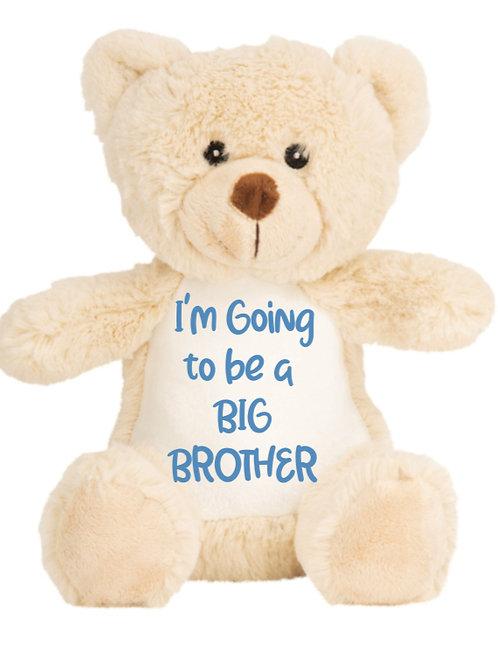 Big Brother sister Teddy - Personalised