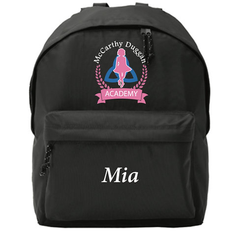 Personalised Backpack -  McCarthy Duggan Academy