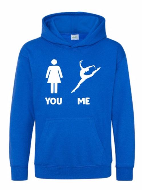 You Me dancer hoodie