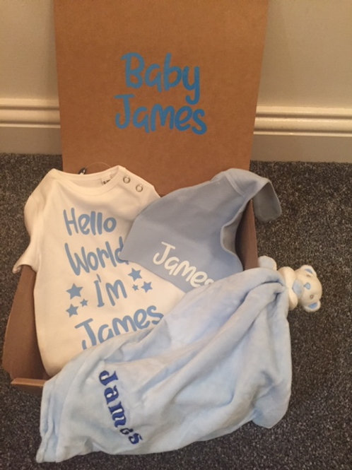 New Baby Gift Box - personalised