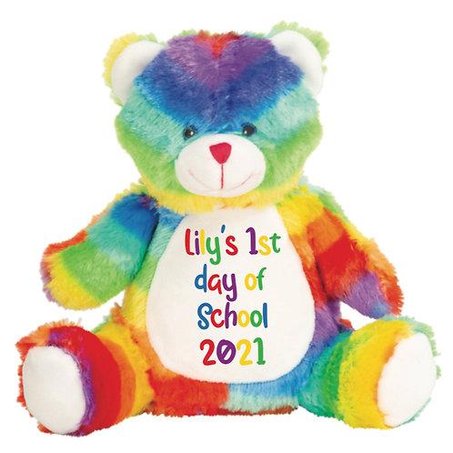 1st / Last day of school Teddy - Personalised