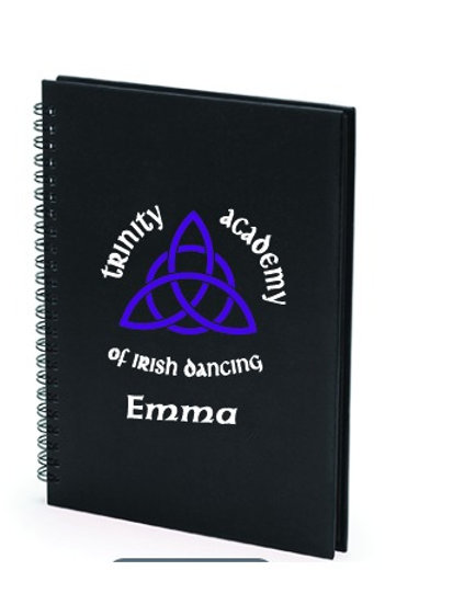 Trinity Academy Lined Notebook Personalised