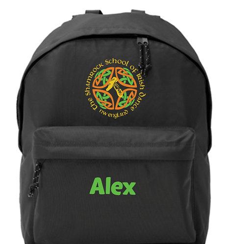 Backpack Personalised - SHAMROCK SCHOOL