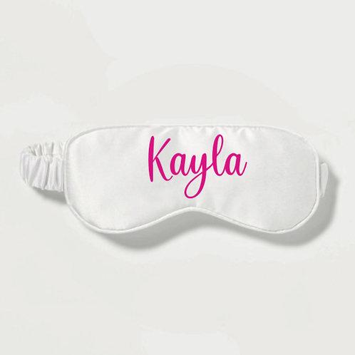 Personalised Eye Mask