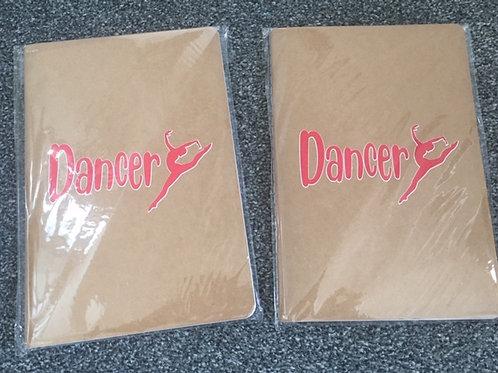 A5 Notebook - Dancer Red