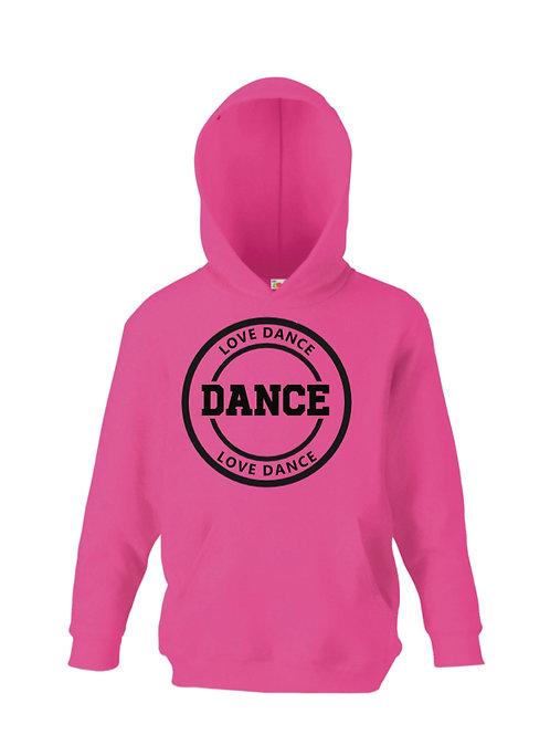 Love dance hoodie